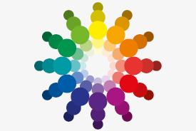 Vztah mezi barvami, barevné kolo
