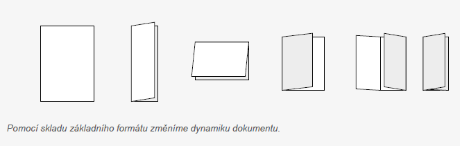 Pomocí skladu základního formátu změníme dynamiku dokumentu.